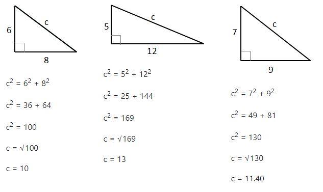 Pythagoras Theorem Helping With Math