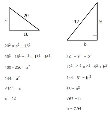 Pythagoras Theorem Helping With Math