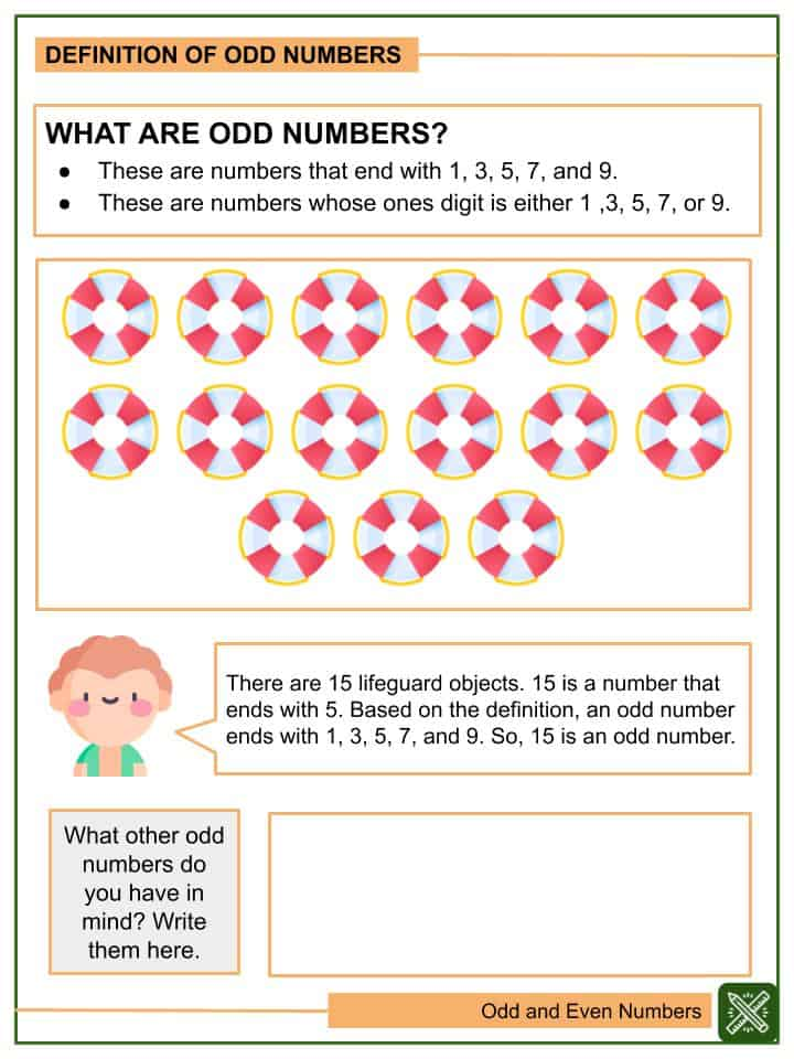 Odd and Even Numbers Worksheets(1)