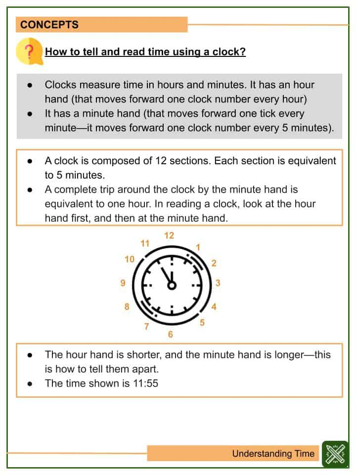 Understanding Time Worksheets(2)
