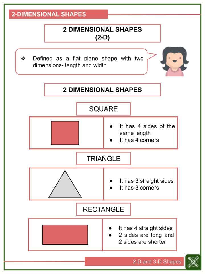 2-D and 3-D Shapes Worksheets(1)