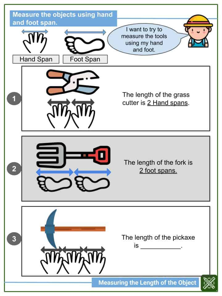 Measuring the Length of an Object Worksheets(2)