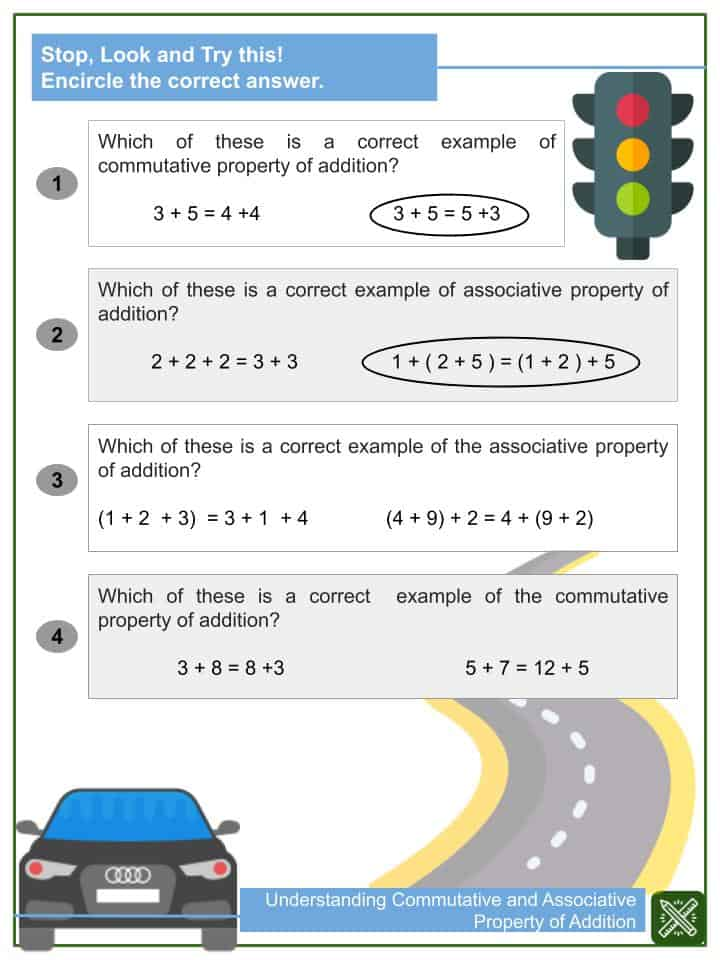 Understanding Commutative and Associative Property of Addition(2)