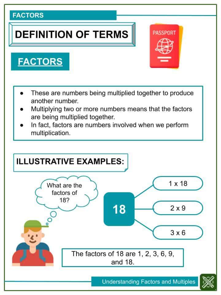 Understanding Factors and Multiples Worksheets(1)
