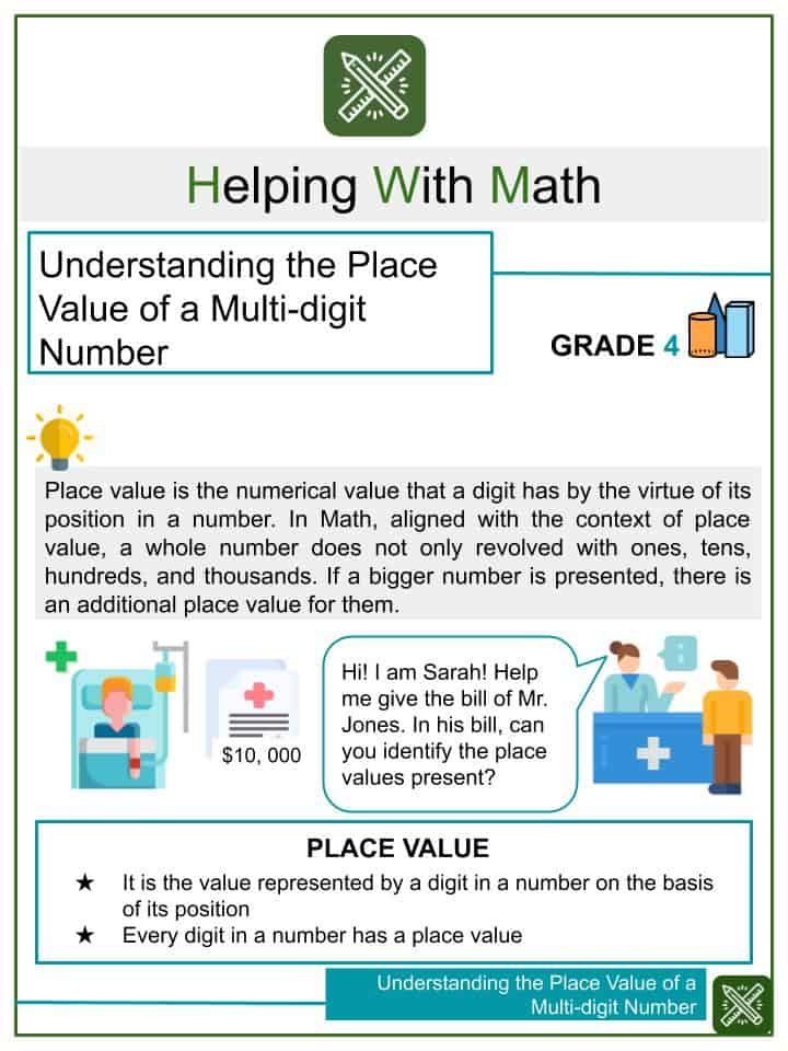Place Value: Numbers To 999 Helping With Math