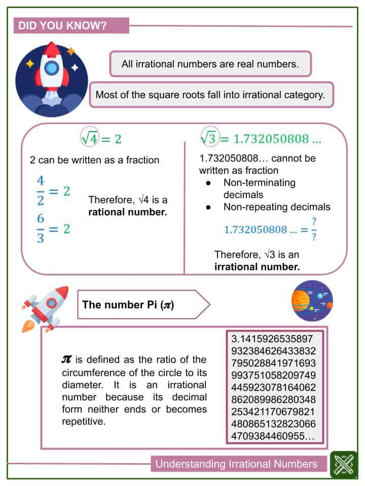 _Understanding Irrational Numbers Worksheets (1)