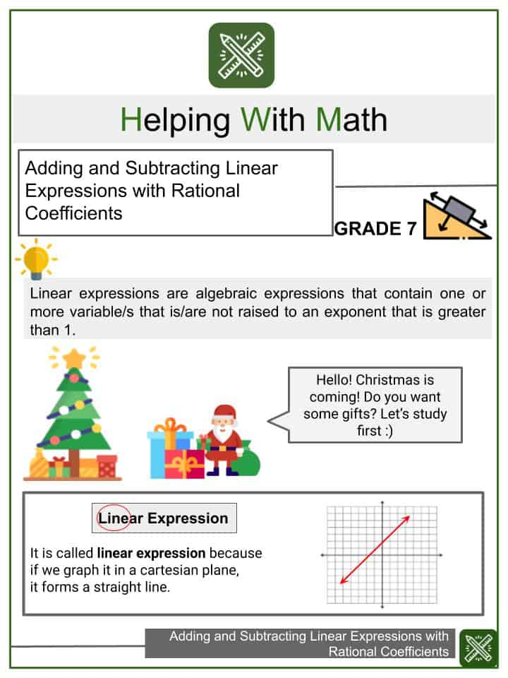 7th Grade Worksheets & Other Resources Helping With Math