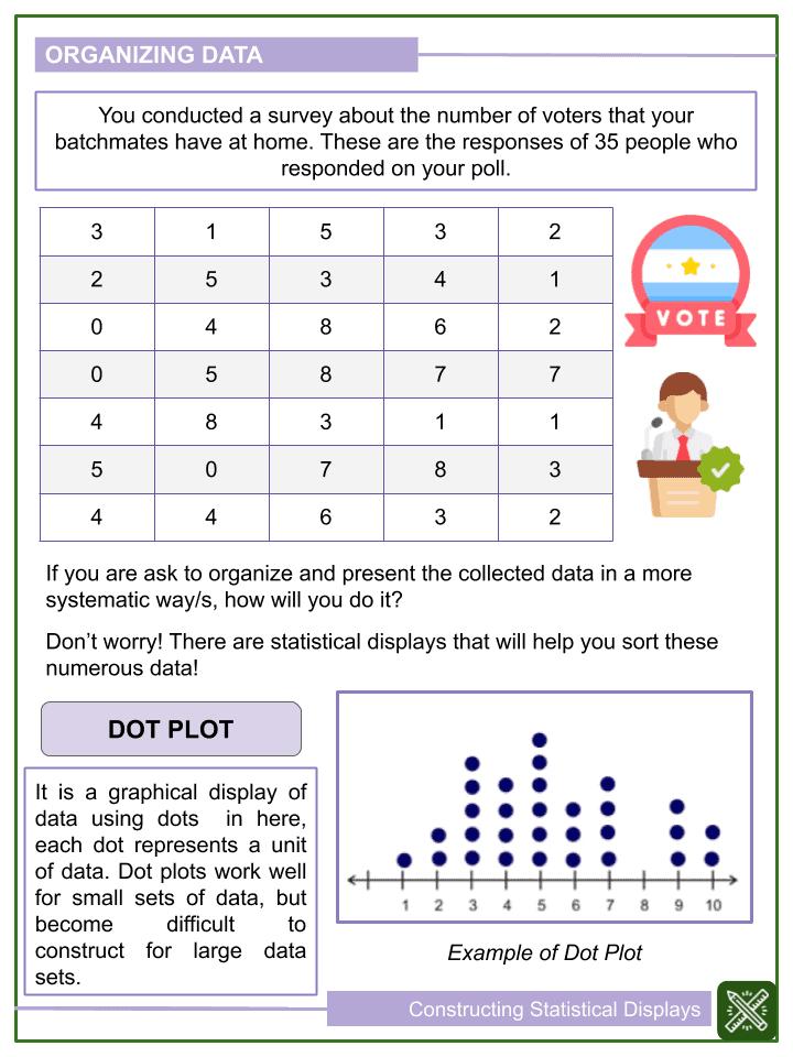 Constructing Statistical Displays Worksheets (1)