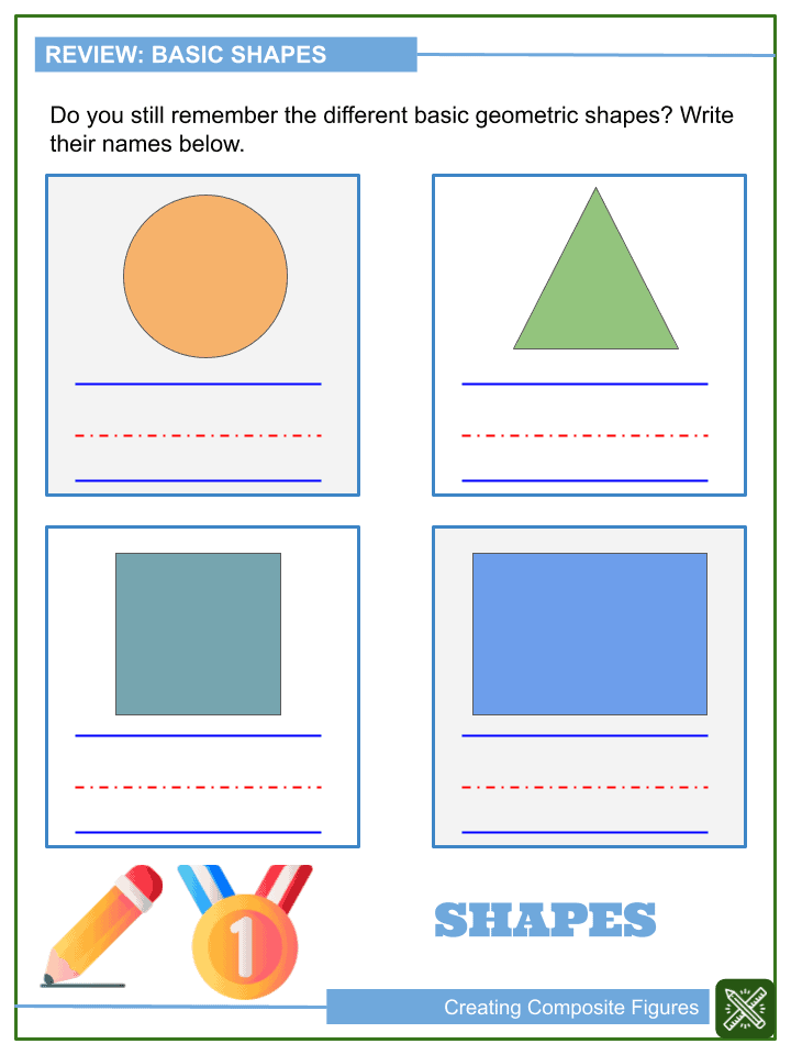 Creating Composite Figures Worksheets (1)