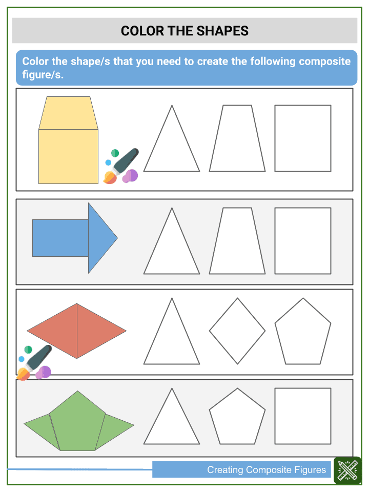 Creating Composite Figures Worksheets (3)