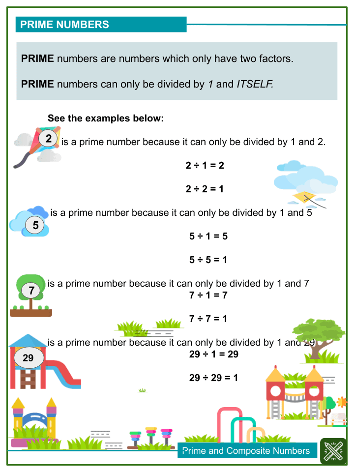 Prime and Composite Numbers (1)
