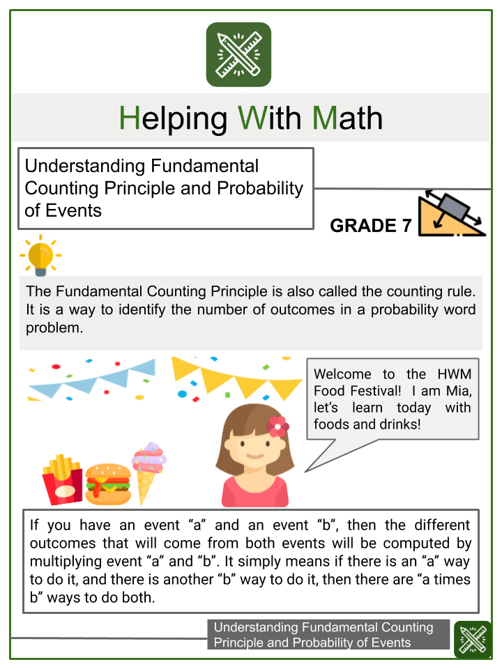 Understanding Fundamental Counting Principle and Probability of Events.pptx