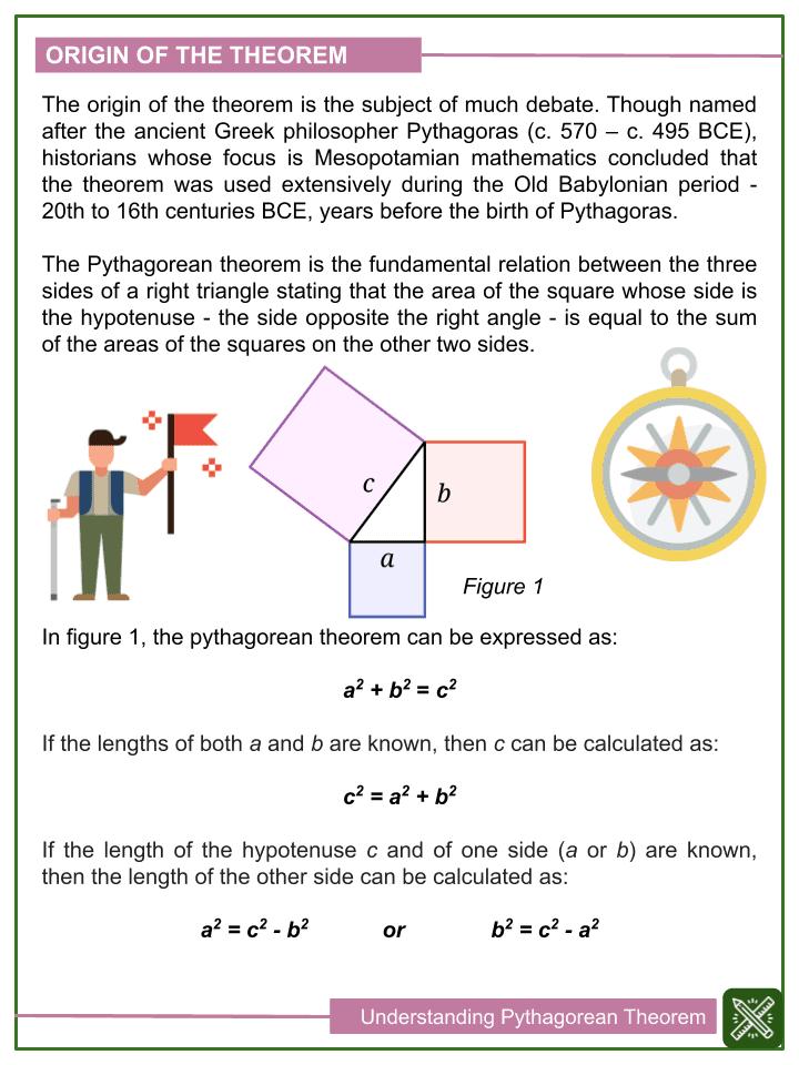 Understanding Pythagorean Theorem Worksheets (1)
