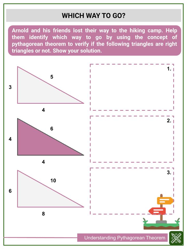 Understanding Pythagorean Theorem Worksheets (3)