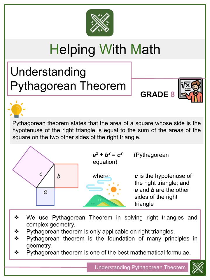 Understanding Pythagorean Theorem Worksheets