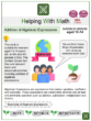 Addition of Algebraic Expressions (Ages 12-14) Worksheets (Earth Day Themed)