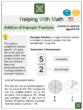 Addition of Improper Fractions (Ages 9-10) Worksheets (Black Friday Themed)