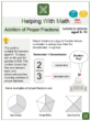 Addition of Proper Fractions (Ages 9-10) Worksheets (Election Day Themed)