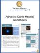 Adhara (ε Canis Majoris) Worksheets