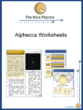 Alphecca Worksheets