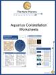 Aquarius Constellation Worksheets
