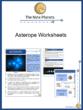 Asterope Worksheets