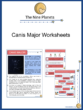 Canis Major Constellation Worksheets