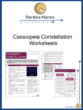 Cassiopeia Constellation Worksheets