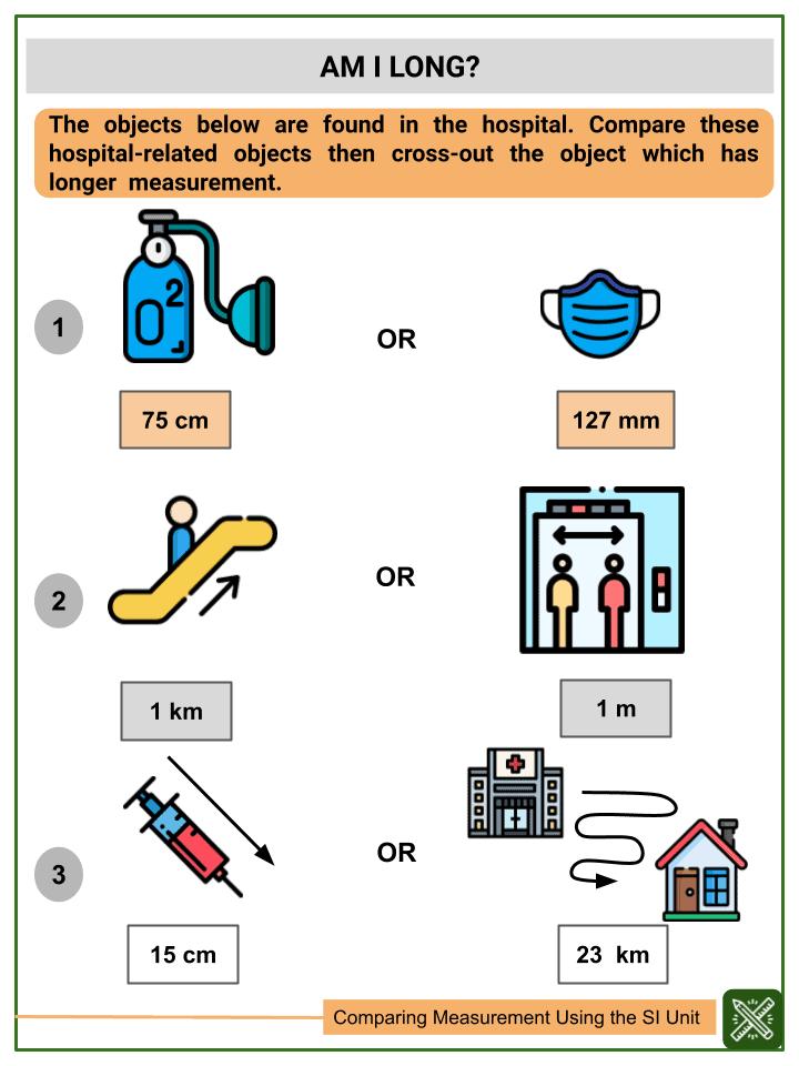 Comparing Measurement using the SI Unit (3)
