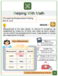 Comparing Measurement using the SI Unit 2nd Grade Math Worksheets