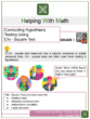 Conducting Hypothesis Testing Using Chi – Square Test 8th Grade Math Worksheets