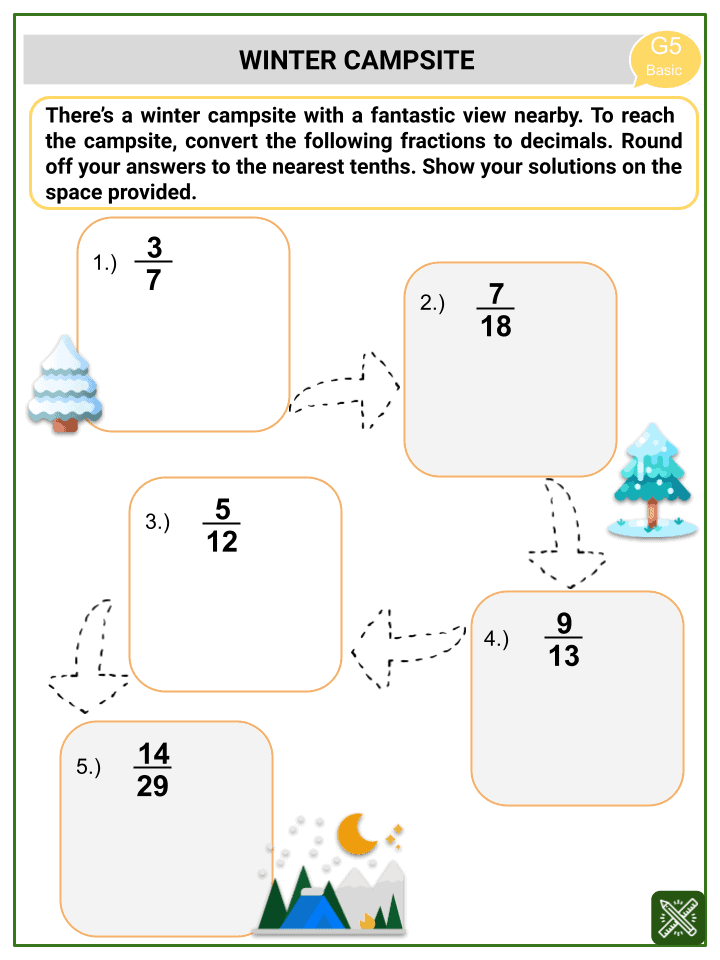 Converting Fractions to Decimals (Winter Themed) Worksheets.pptx (3)