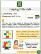 Converting Like Measurement Units 5th Grade Math Worksheets