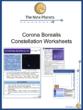 Corona Borealis Constellation Worksheets