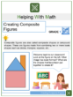 Creating Composite Figures 1st Grade Math Worksheets