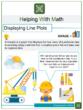 Displaying Line Plots 4th Grade Math Worksheets