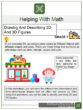 Drawing And Describing 2D And 3D Figures 7th Grade Math Worksheets