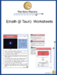 Elnath (β Tauri) Worksheets
