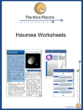 Haumea Worksheets