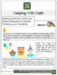 Making Statistical Inferences Using Measures of Central Tendency and Variability 7th Grade Math Worksheets