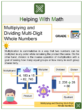 Multiplying and Dividing Multi-Digit Whole Numbers 5th Grade Math Worksheets