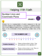 Number Lines and Coordinate Planes 6th Grade Math Worksheets