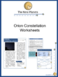 Orion Constellation Worksheets