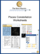 Pisces Constellation Worksheets