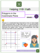 Polygons in the Coordinate Plane 6th Grade Math Worksheets