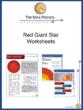 Red Giant Star Worksheet