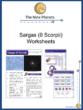 Sargas (θ Scorpii) Worksheets
