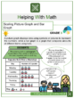 Scaling Picture Graph and Bar Graph 3rd Grade Math Worksheets