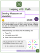 Solving Measures of Variability 6th Grade Math Worksheets