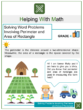 Solving Word Problems Involving Perimeter and Area of Rectangle 4th Grade Math Worksheets